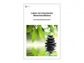"""Informationsbroschüre """"Leben mit Niereninsuffizienz"""""""